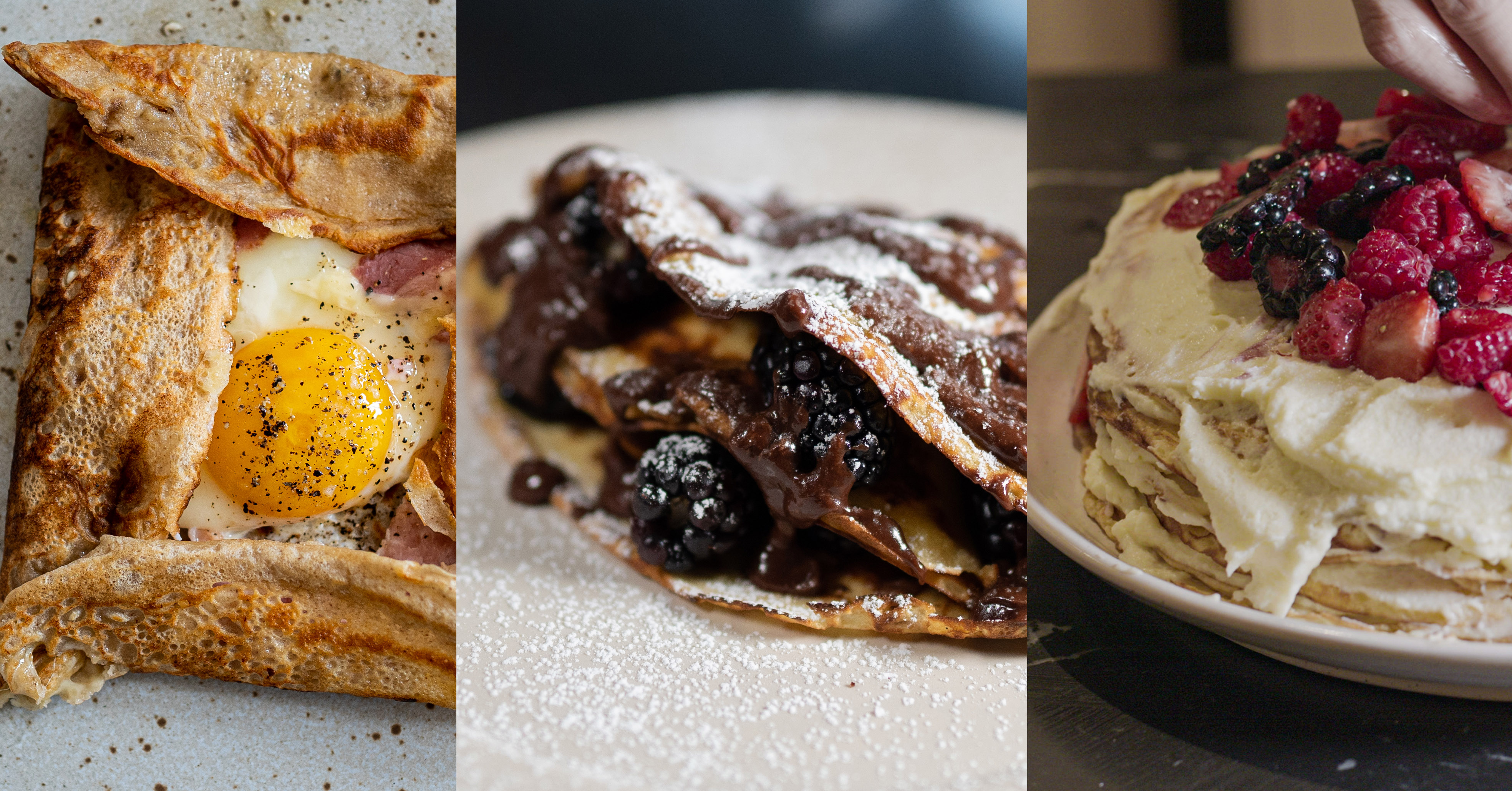 Easy Sweet And Savory Crepe Recipes The Fat Kid Inside